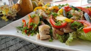 鶏肉の塩麹グリル野菜プレート